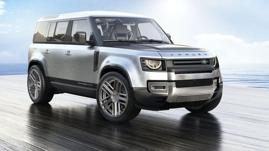 Carlex Design превратит новый Land Rover Defender в сухопутную яхту