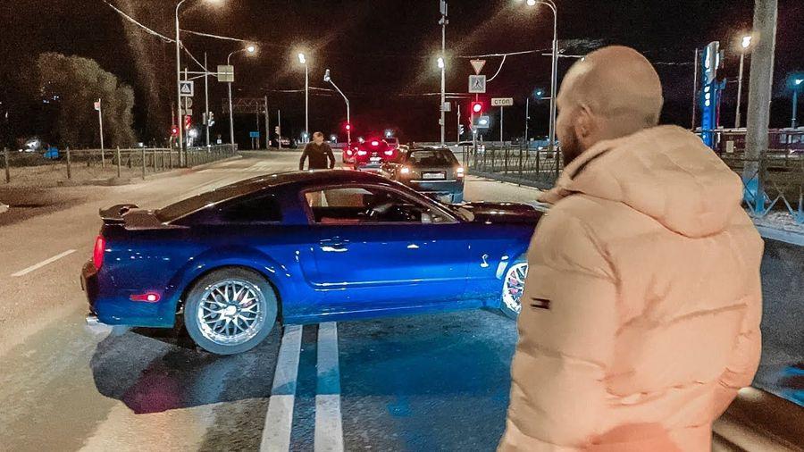 Видеоблогеры разбили Ford Mustang сразу после покупки