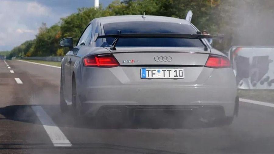 Совершенно дикий 800-сильный Audi TT RS разгоняется до 100 км/ч за 2,87 секунды