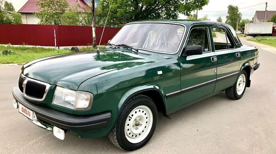 В Нижнем Новгороде продают идеальную 22-летнюю «Волгу» с пробегом 4 тысячи километров