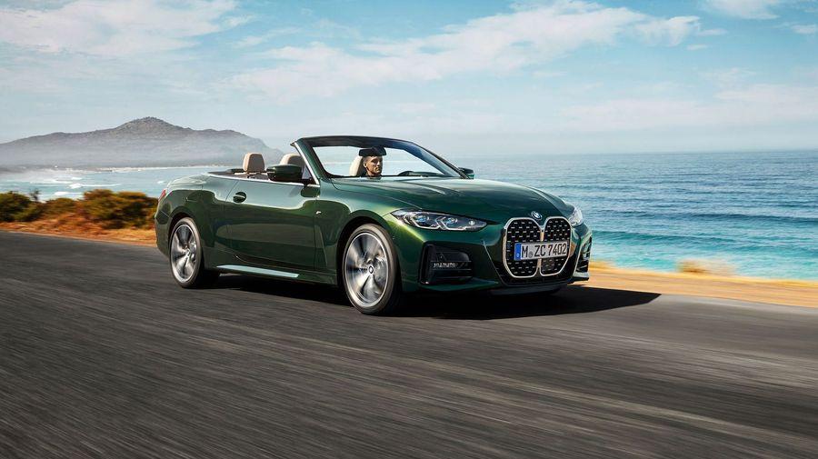 Новый BMW 4-серии с кузовом кабриолет променял жесткий верх на мягкий