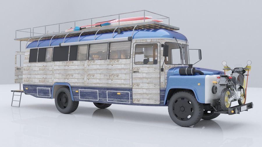 Проект автокемпера на шасси автобуса КАвЗ, в котором вам захочется пожить