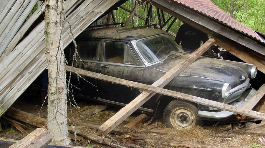 История о ГАЗ-21С «Волга» из Финляндии: 20 лет простоя, обрушение крыши сарая и чудесное восстановление