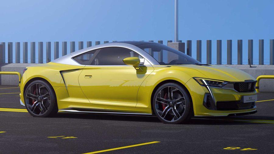 Таким мог бы быть Peugeot RCZ нового поколения, если бы экономика его не убила
