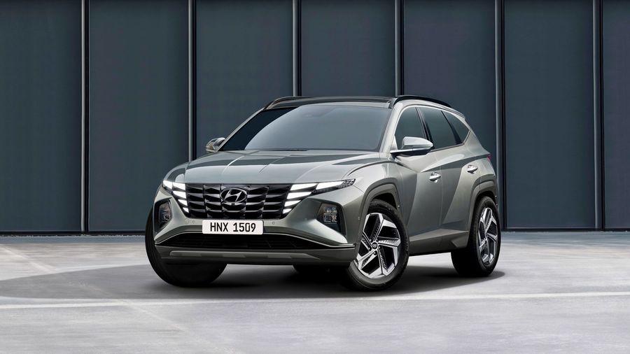 Новый Hyundai Tucson получил радикальный дизайн