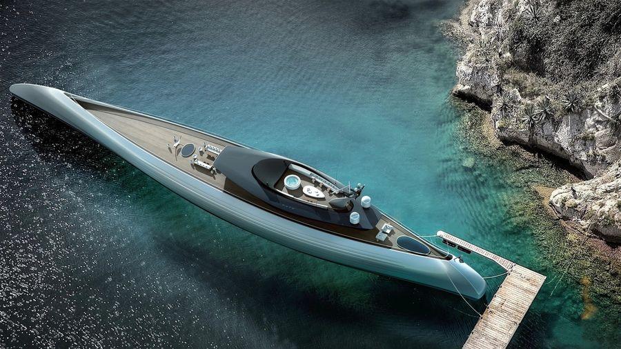 5 очень дорогих концептуальных мега-яхт, которые выглядят потрясающе