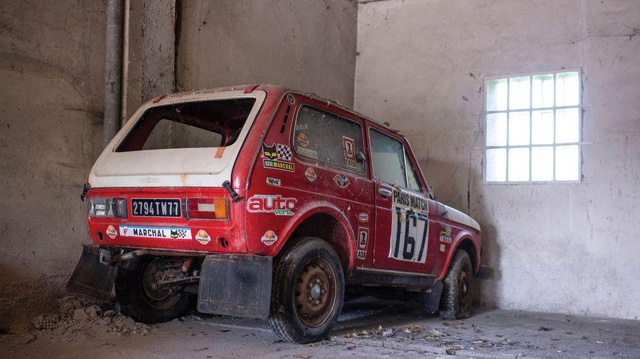 Lada Niva, который не смог финишировать на Дакаре в 1979 году, продадут за 6.5 млн рублей