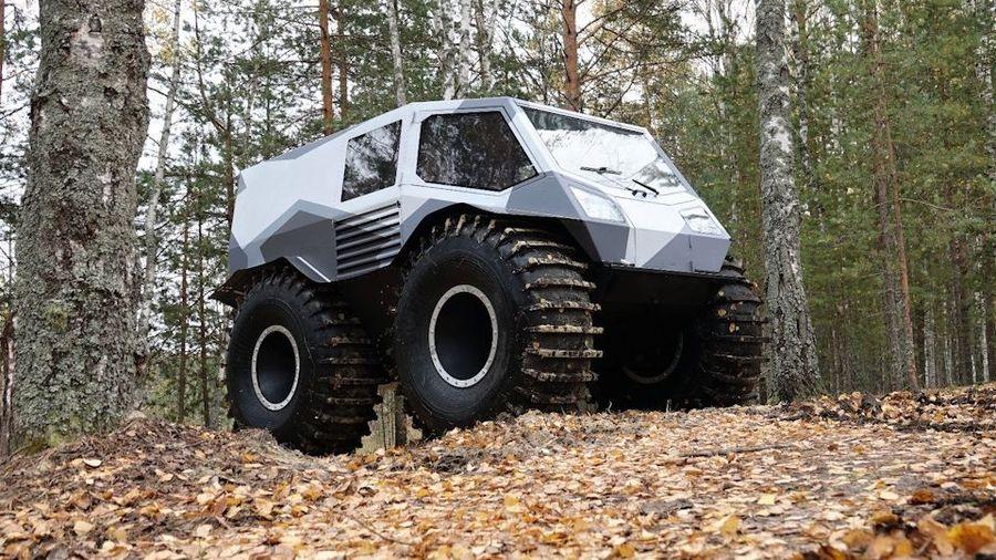 Создатель вездехода «Шерп» запатентовал новый вездеход AG 20
