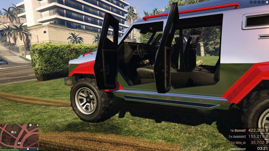 6 лучших бронированных автомобилей из вселенной GTA Online