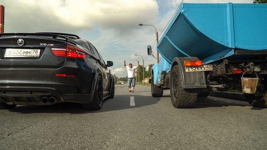 Самосвал ЗИЛ на базе BMW X5 M стал мощнее: теперь 700 лошадиных сил!
