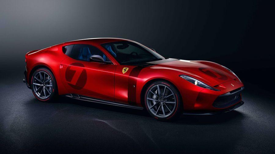 Ferrari Omologata создан на базе 812 Superfast в единственном экземпляре