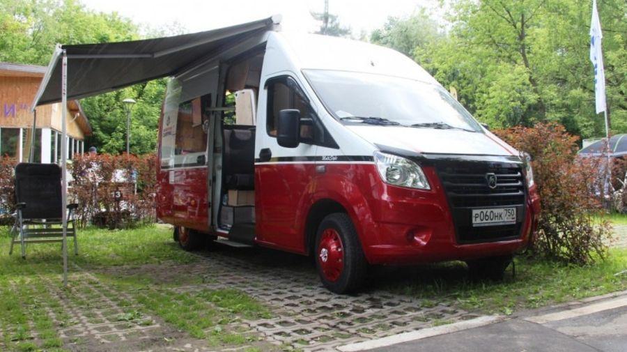Фургон ГАЗель-Next превратили в кемпер стоимостью 3 миллиона рублей