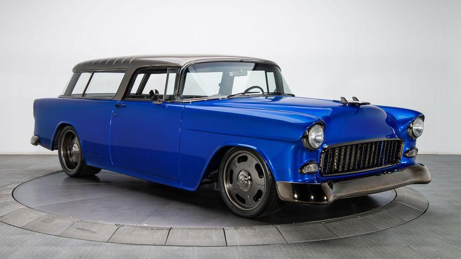 Рестомод Chevrolet Nomad для выставки SEMA получил модифицированный LS3 V8