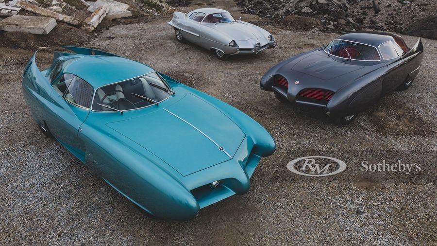 На аукционе продадут легендарные концепты Alfa Romeo B.A.T.