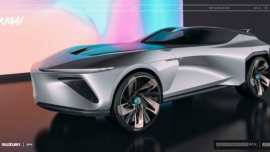 Независимый дизайнер постарался вернуть красоту автомобилям Suzuki с концептом Ikigai