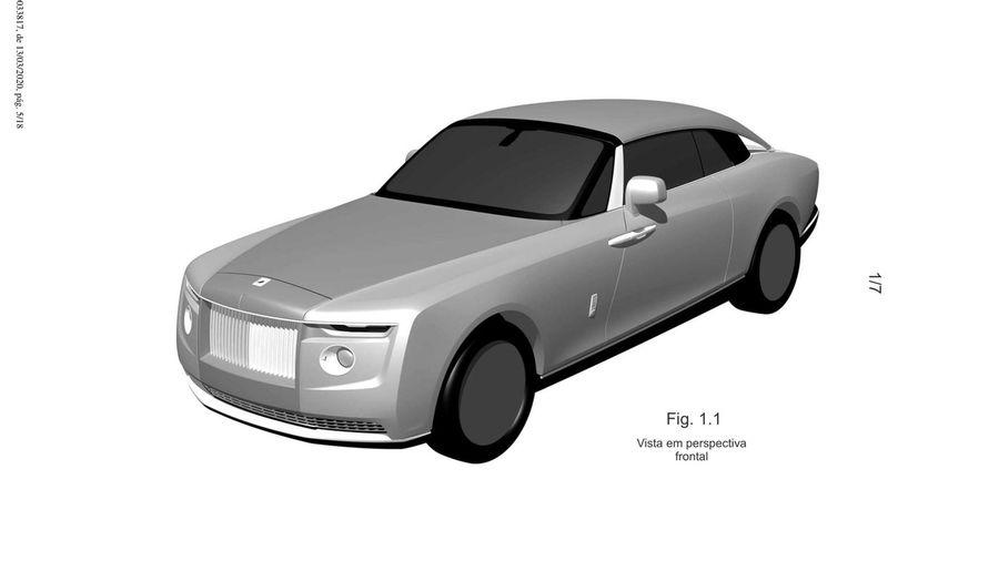Это патентные изображения нового сверх-дорогого Rolls-Royce?