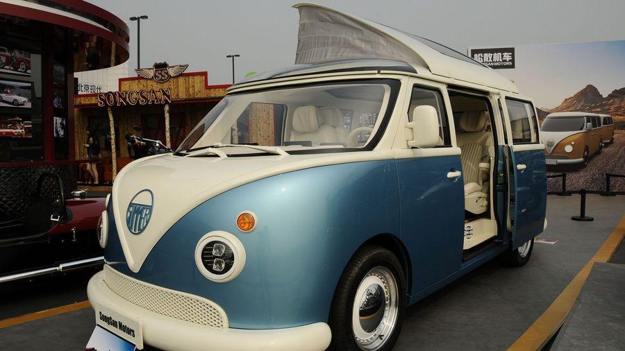 Китайцы решили создать современный клон Volkswagen Type 1, показав гибридный Songsan Summer