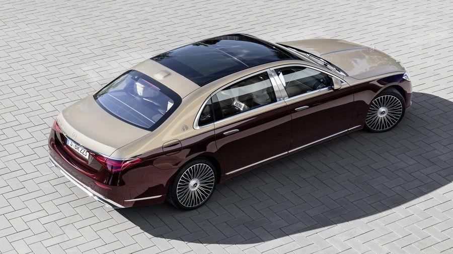 Новый Mercedes-Maybach S-класса встанет на вершину модельного ряда компании