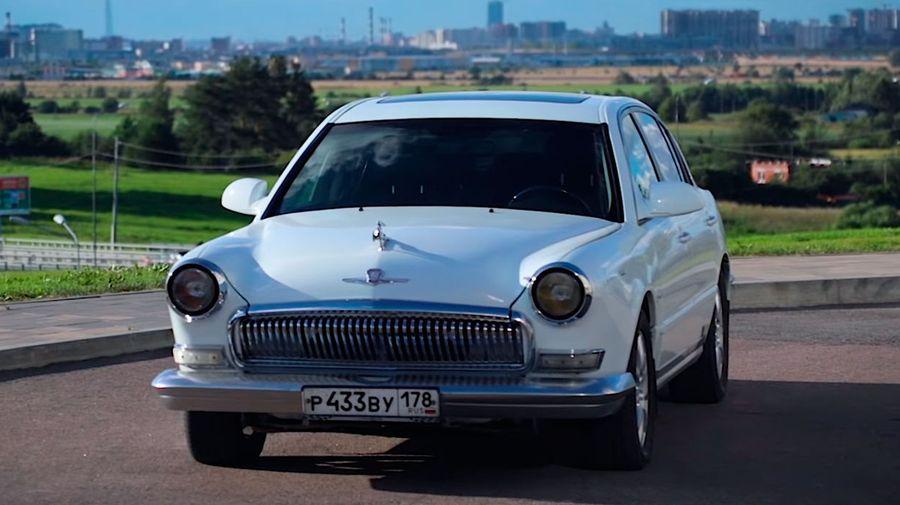 Одну из 30 реплик ГАЗ-21 «Волга» на базе Kia выставили на продажу в Санкт-Петербурге