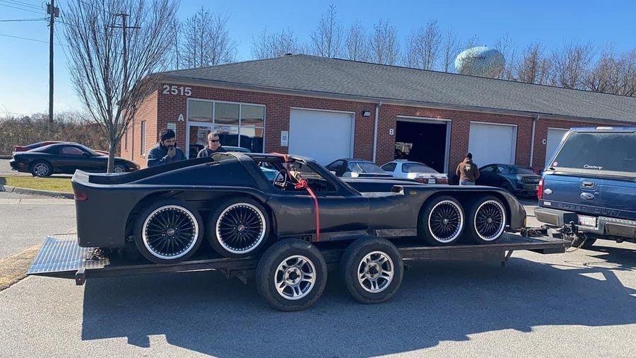 Восемь колес и два спаренных роторных двигателя — невероятный самодельный суперкар