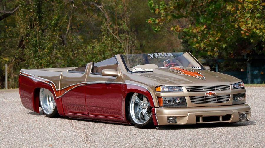 Этот кастомный пикап Chevrolet Colorado может стать альтернативой кроссоверам-кабриолетам