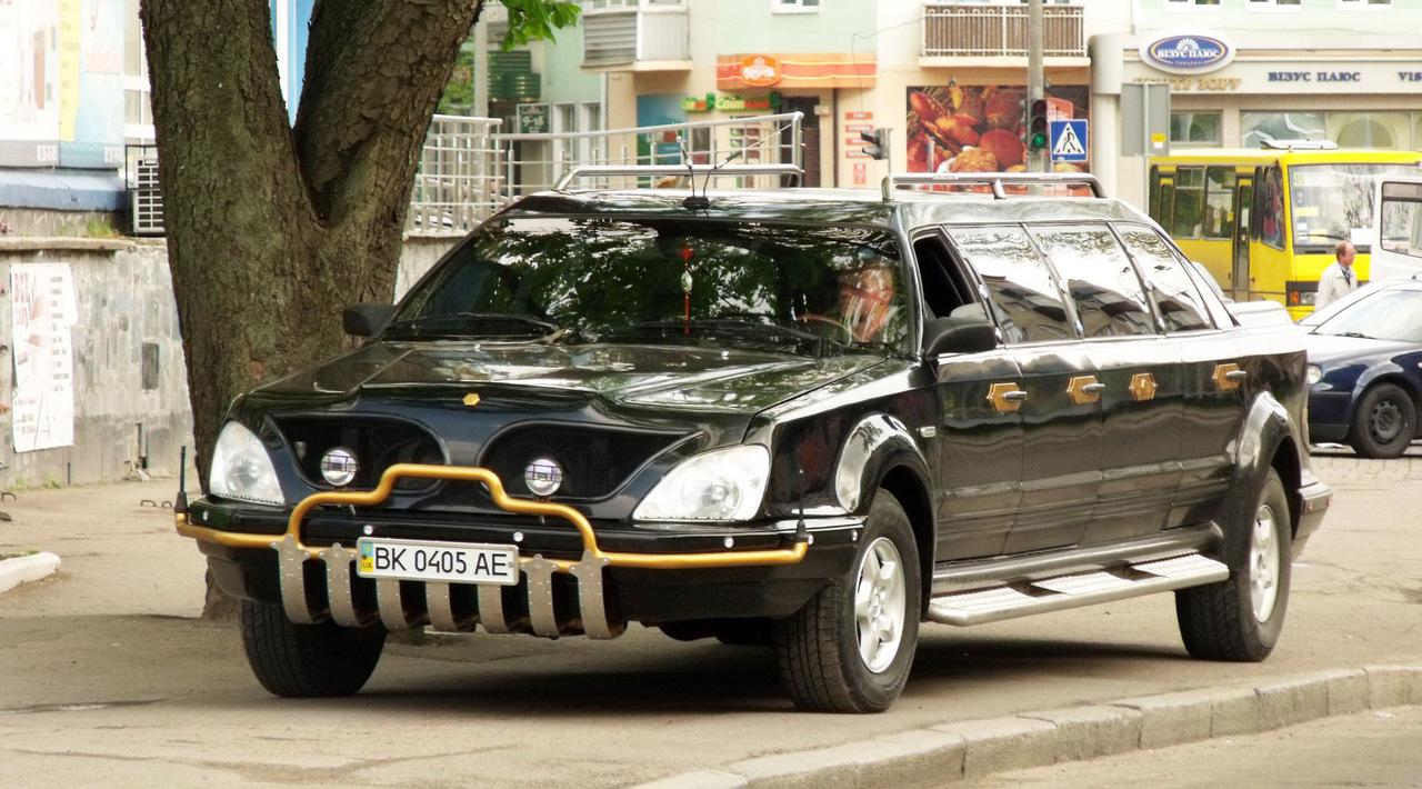 фото самодельных лимузинов совместных покупках