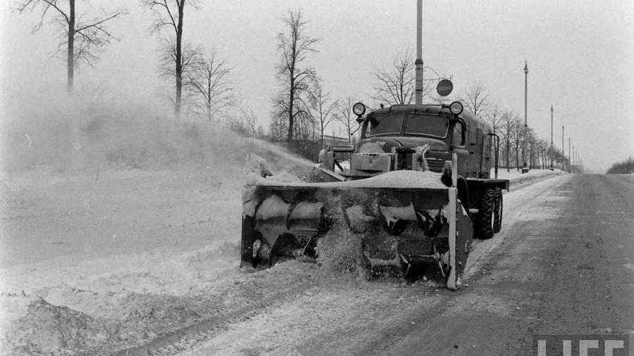 Уникальное из СССР: Шнеко-роторный снегоочиститель Д-262
