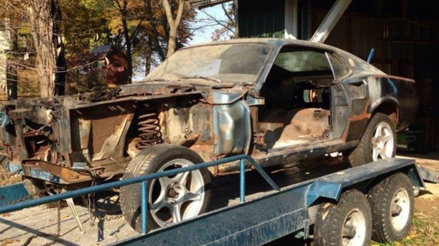 Пошаговое Восстановление Ford Mustang 1969
