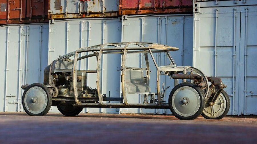 Инновационный автомобиль-каплю Aerodyne продадут на аукционе Bonhams