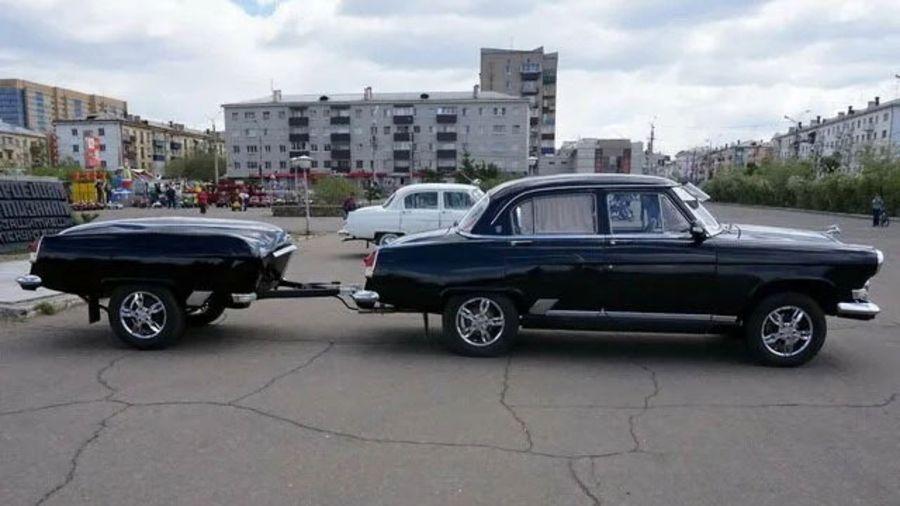 Забавные и странные автомобильные прицепы — 2