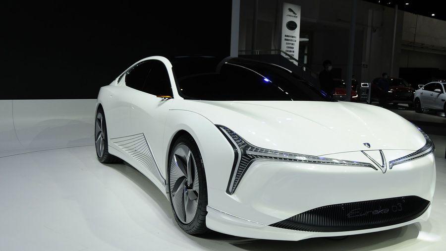Стильный электромобиль Neta Eureka 03 Concept из Китая должен стать соперником Tesla Model 3