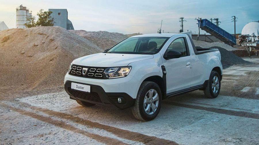 Dacia Duster превратился в дизельный пикап грузоподъемностью 500 кг за 2 миллиона рублей