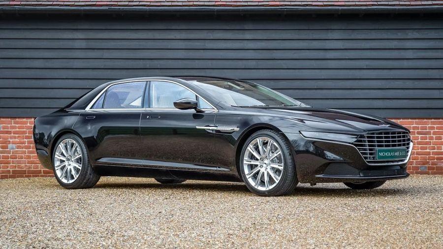 В Великобритании продают редчайший и нереально дорогой Aston Martin Lagonda Taraf
