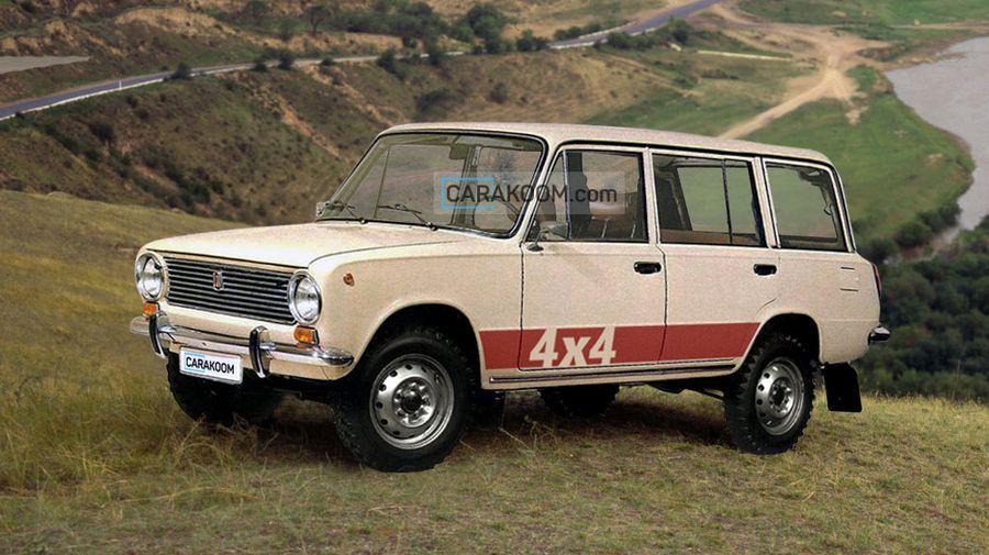 ВАЗ-2102 4х4: каким мог быть первый полноприводный автомобиль АвтоВАЗа