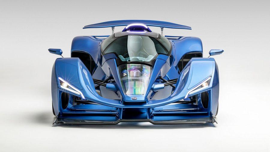 Компания Delage возвращается с 1116-сильным гибридом в стиле болида Формулы-1