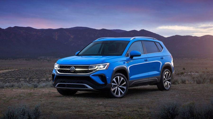 Новый кроссовер Volkswagen Taos должен встать на ступеньку ниже Tiguan