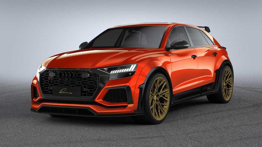 Lumma Design обновил Audi RS Q8 комплектов карбонового тюнинга