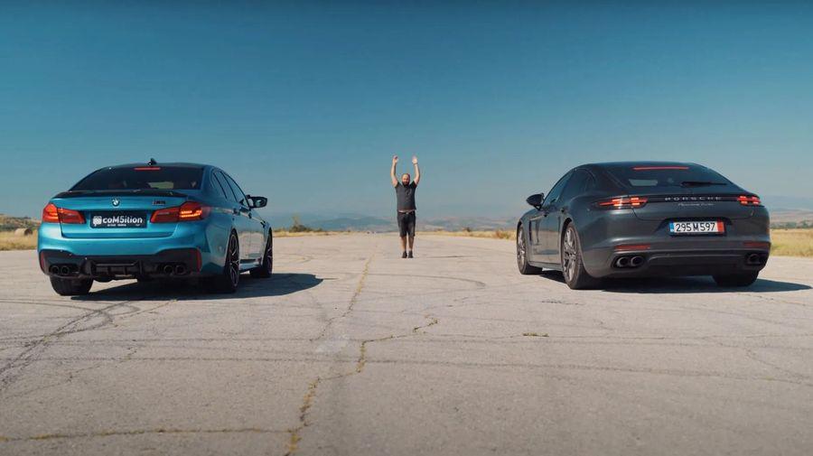 Porsche Panamera против BMW M5 Competition. Кто кого?