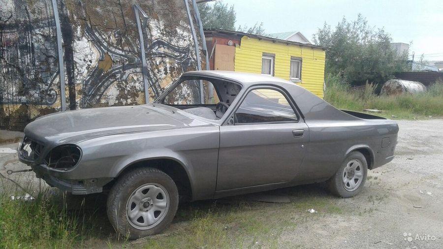 Купили бы вы этот незавершенный проект «Волги» в стиле El Camino за 375 тысяч рублей?