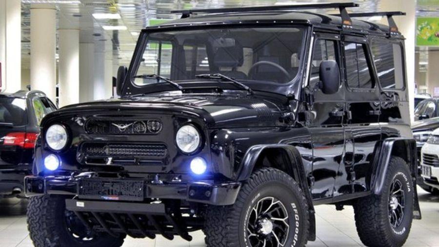 Внедорожник по-русски: УАЗ Hunter 2016