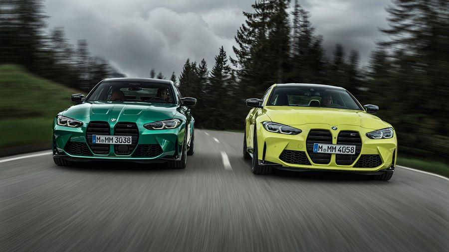 Новые BMW M3 и M4 объединили спорную внешность с полным приводом и «механикой»