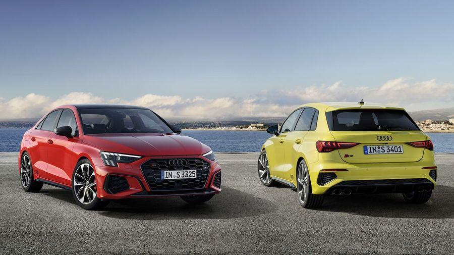 Audi показала «заряженные» S3 Sportback и S3 Sedan