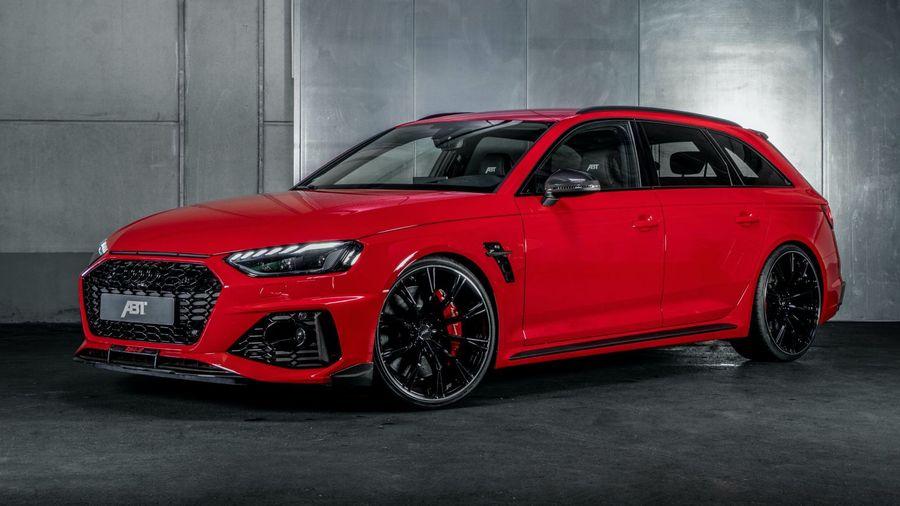 ABT показал особую модель RS4-S, созданную на базе обновленного Audi RS4 Avant