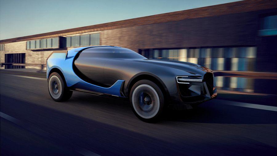 Кроссовер Bugatti Resonner 2032 впитал технологии гоночных катамаранов