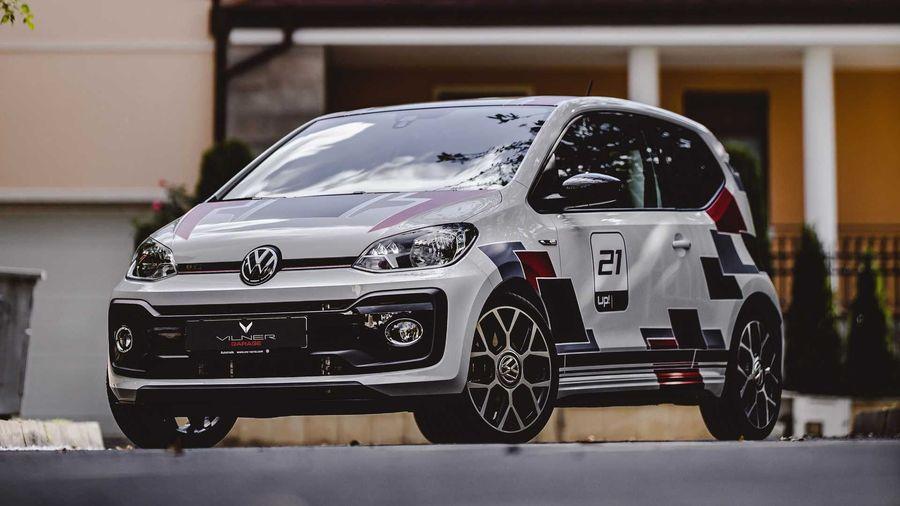 Тюнинг-ателье Vilner добавило стиля крошечному Volkswagen Up! GTI