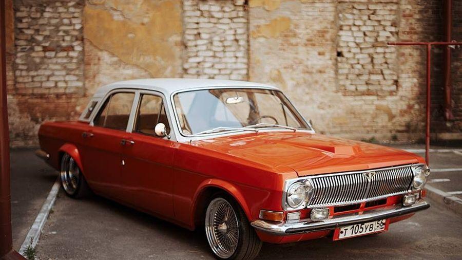 Лоурайдер ГАЗ 24, построенный несмотря на все несчастья