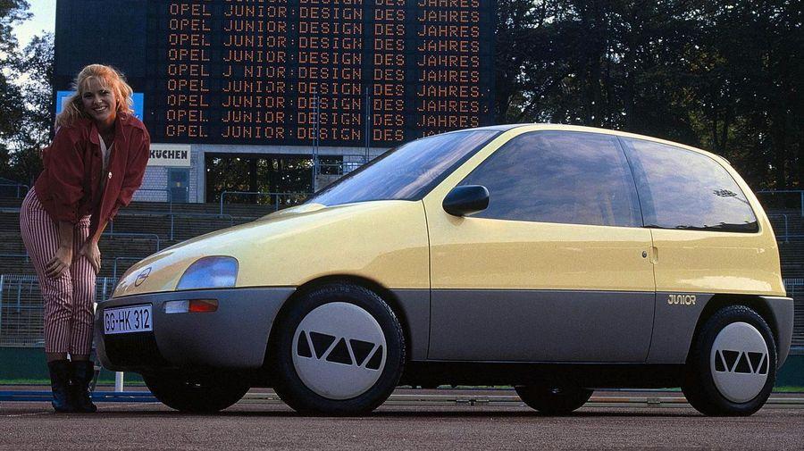Концептуальный Opel Junior 1983 года имел потрясающий салон-трансформер