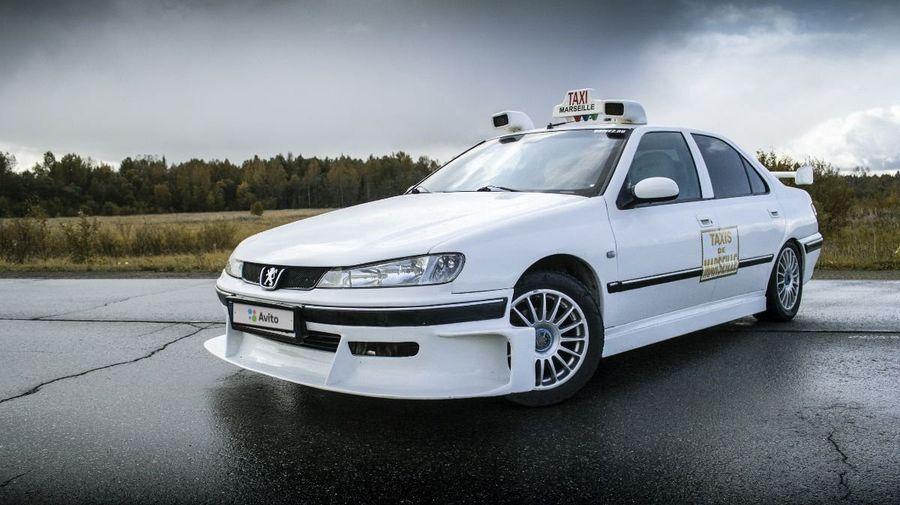 В России продаётся точная реплика Peugeot 406 из фильма «Такси 2»