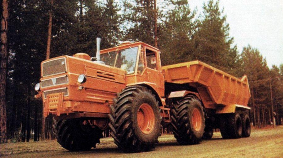 Трактор Т-150К: история, конструкция, фотографии