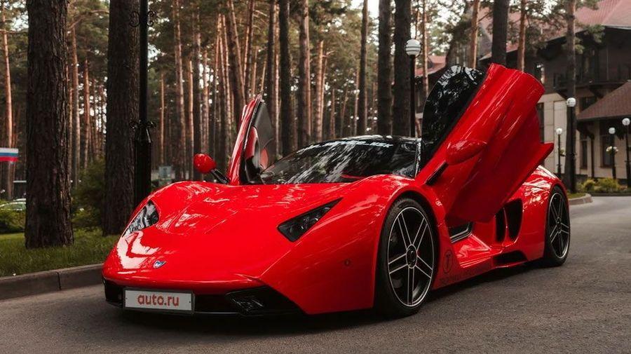 В Новосибирске продают российский суперкар Marussia B1 в идеальном состоянии